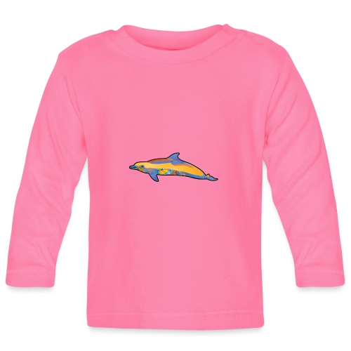Colorful dolphin - Baby Long Sleeve T-Shirt