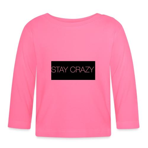 STAY CRAZY - Långärmad T-shirt baby