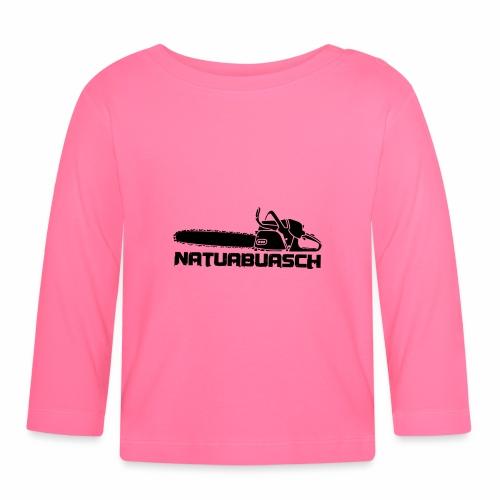 Natuabuasch Motorsäge - Baby Langarmshirt