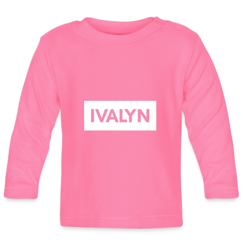 IVALYN2 png - Baby Long Sleeve T-Shirt
