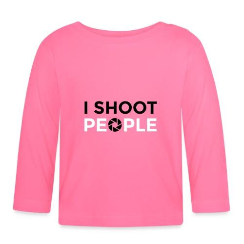 I shoot people - Baby Long Sleeve T-Shirt
