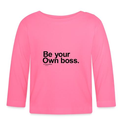 Boss in black - Baby Long Sleeve T-Shirt