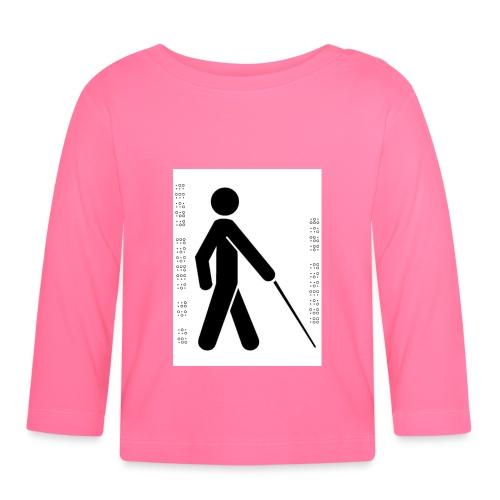 Blind T-Shirt - Baby Long Sleeve T-Shirt
