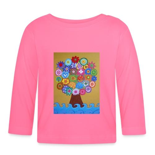 arbol de la vida - Camiseta manga larga bebé