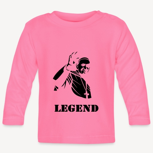 Pope Francis - Legend - Baby Long Sleeve T-Shirt