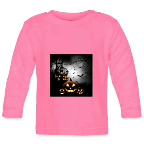 Halloween - Vauvan pitkähihainen paita