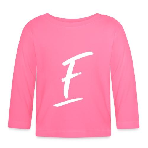 Radio Fugue F Blanc - T-shirt manches longues Bébé
