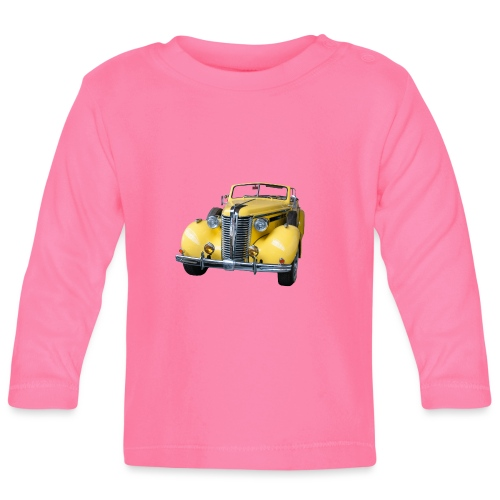 Gele klassieke auto1920 - T-shirt