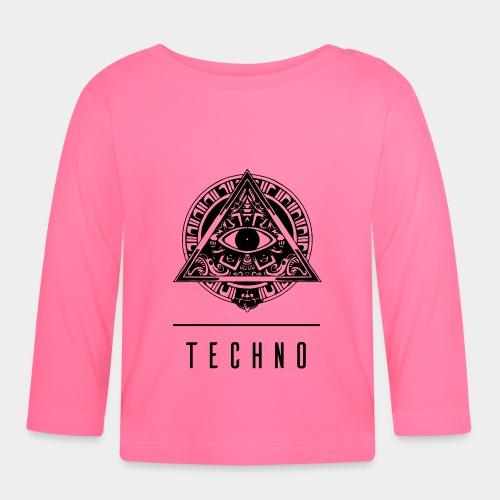 TECHNO EYE - Baby Langarmshirt