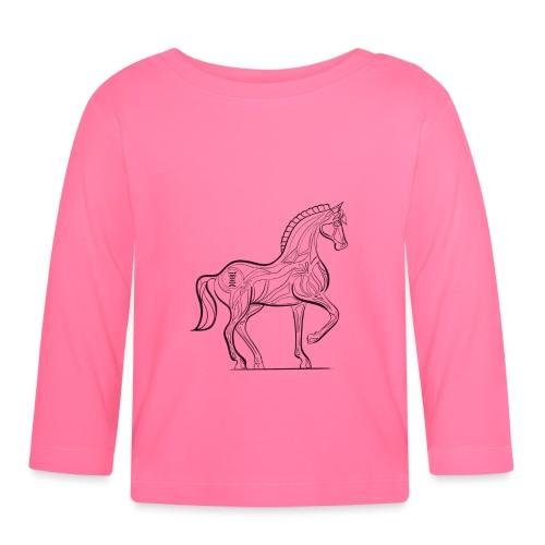 Equus Pferd - Baby Langarmshirt