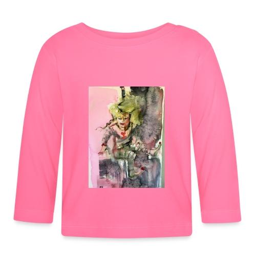 IMG 0764 Happy - Långärmad T-shirt baby