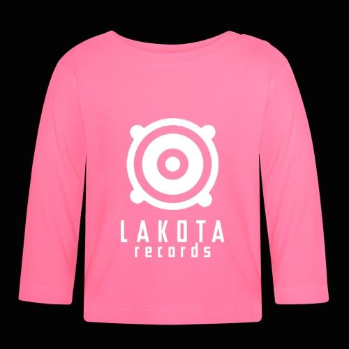 LAKOTA Logo White - Baby Langarmshirt
