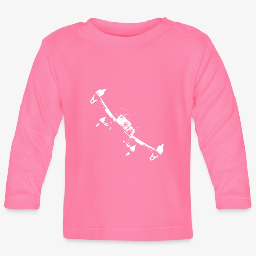 quadflyby2 - Baby Long Sleeve T-Shirt