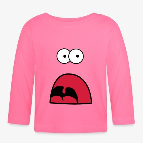 Monster - Schrei und Fressen - Baby Langarmshirt