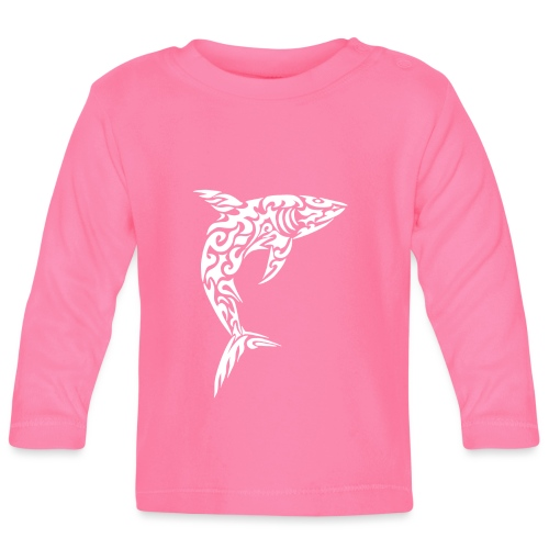 Tribal shark - Maglietta a manica lunga per bambini