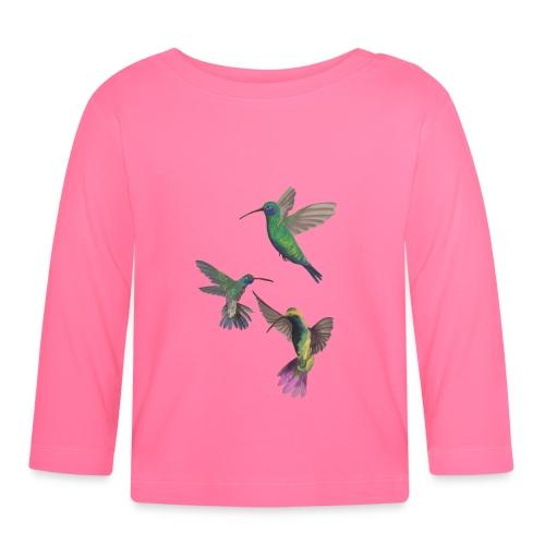 PLAYFUL birds - Långärmad T-shirt baby