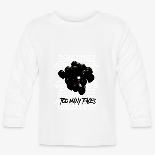 Too many faces (NF) - Baby Long Sleeve T-Shirt