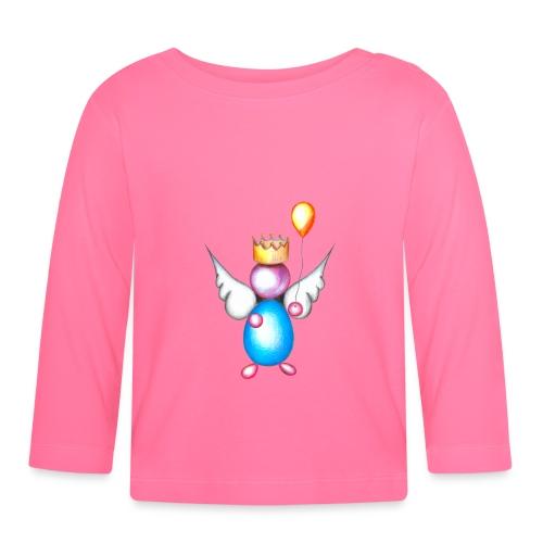 Mettalic Angel happiness - T-shirt manches longues Bébé