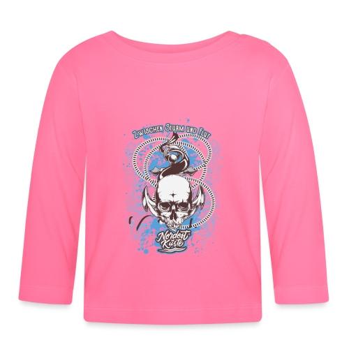 Skull Anker Design Art - Baby Langarmshirt