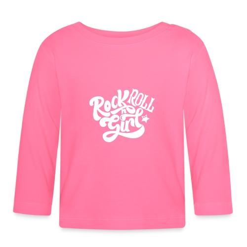 Rock n Roll Girl - Vauvan pitkähihainen paita