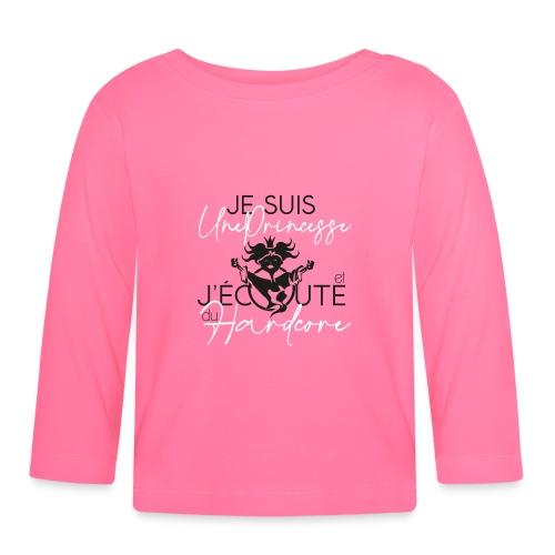 PRINCESSE BLANC NOIR - T-shirt manches longues Bébé