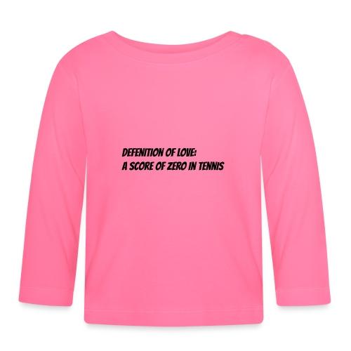 Tennis Love sweater men - T-shirt