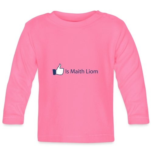 like nobg - Baby Long Sleeve T-Shirt