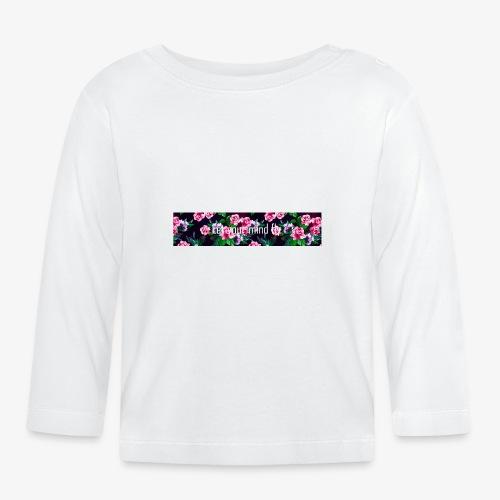 Let your mind fly - Langarmet baby-T-skjorte