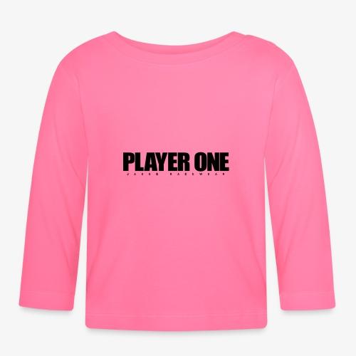 GET READY PLAYER ONE! - Langærmet babyshirt