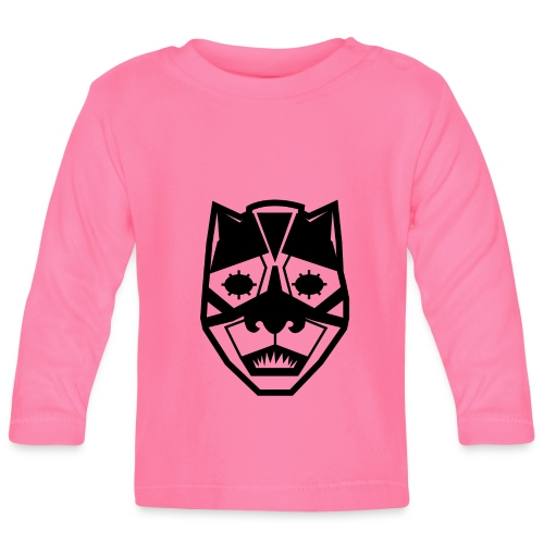 Mask Black - Maglietta a manica lunga per bambini