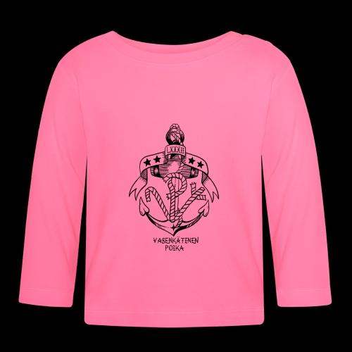 VP Ankkuri - Vauvan pitkähihainen paita