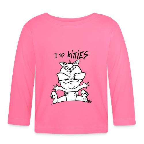 baby i love kitties - T-shirt