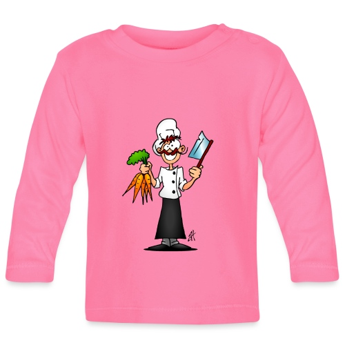 The vegetarian chef - Baby Long Sleeve T-Shirt
