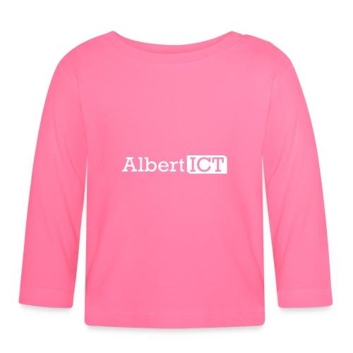 AlbertICT wit logo - T-shirt