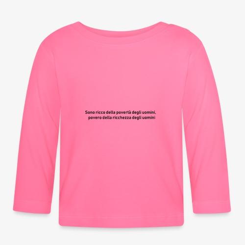 RICCHEZZA e POVERTA' - Maglietta a manica lunga per bambini
