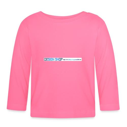 ny logo lang - Langarmet baby-T-skjorte