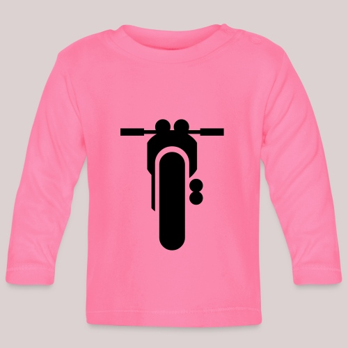 07-30 Motorrad - Baby Langarmshirt