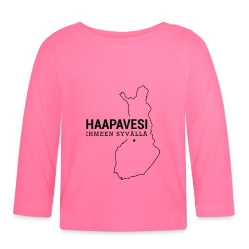 Kotiseutupaita - Haapavesi - Vauvan pitkähihainen paita