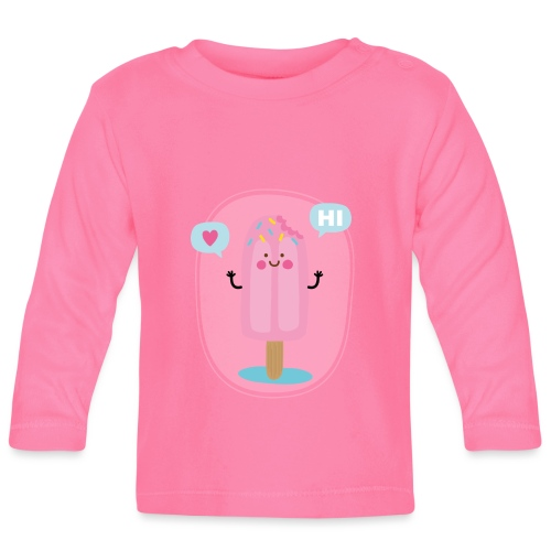 Pink Ice creem - T-shirt manches longues Bébé