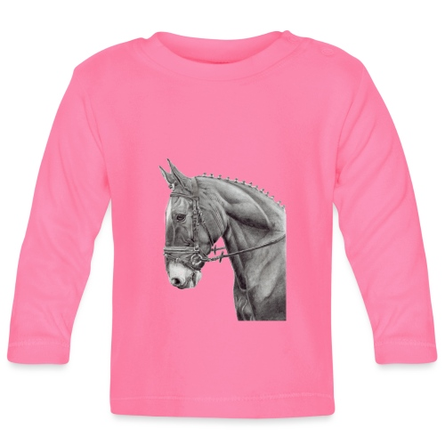 oldenburg horse - Langærmet babyshirt