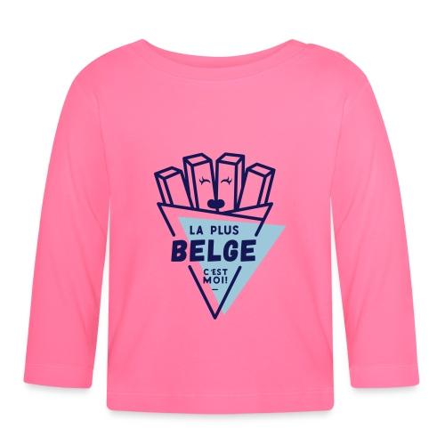 La+Belge - T-shirt manches longues Bébé