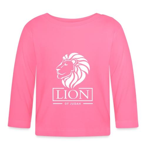 Lion of Judah - Rastafari - Baby Langarmshirt