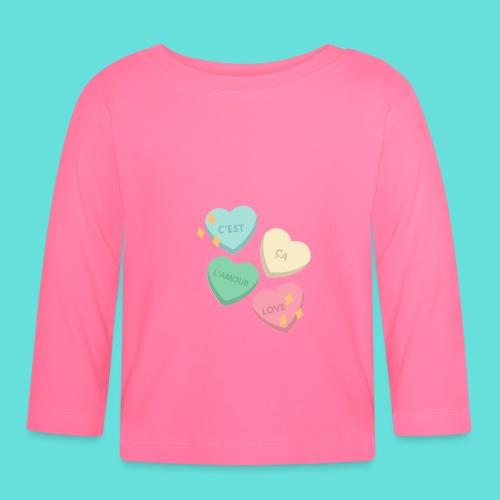 C'est ça l'amour, love - T-shirt manches longues Bébé