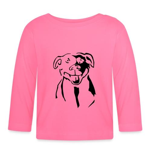 Staffordshire Bull Terrier - Vauvan pitkähihainen paita