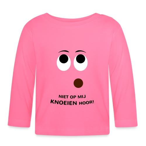 Grappige Rompertjes: Niet op mij knoeien hoor - T-shirt
