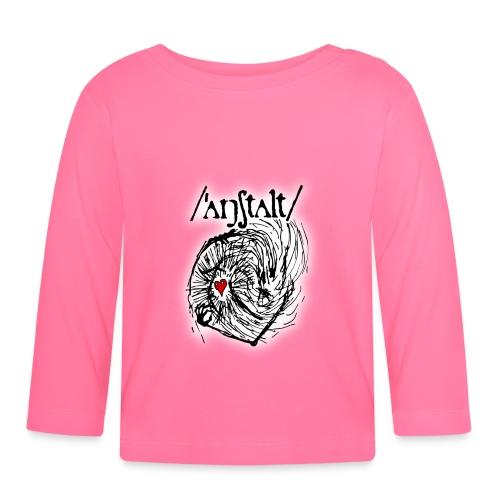 wesen mit herz und logo - Baby Langarmshirt