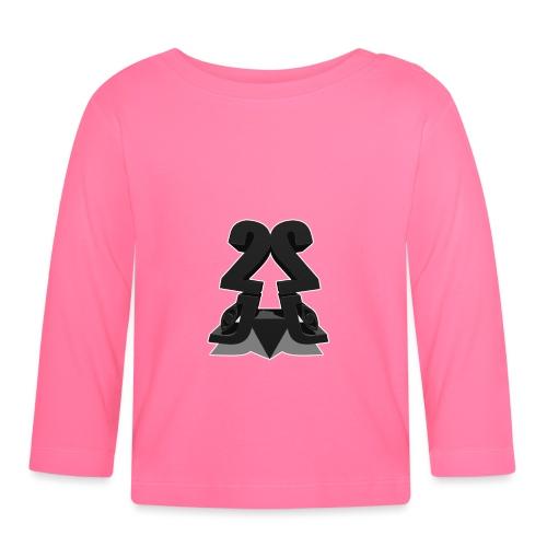 2j_3D - Langærmet babyshirt