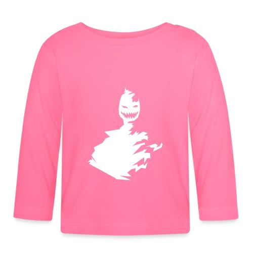 t-shirt monster (white/weiß) - Baby Langarmshirt