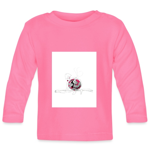red lady - Baby Long Sleeve T-Shirt