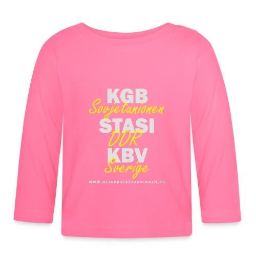 KGB STASI KBV - Långärmad T-shirt baby